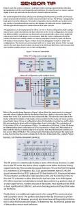 Sensor Tip SPI output