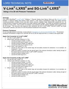 Sensor Tip V-Link en SG-Link