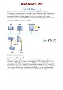 Sensor Tip IO-Link output
